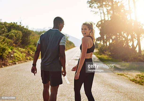 my guy makes the best workout buddy - sportswear stock pictures, royalty-free photos & images