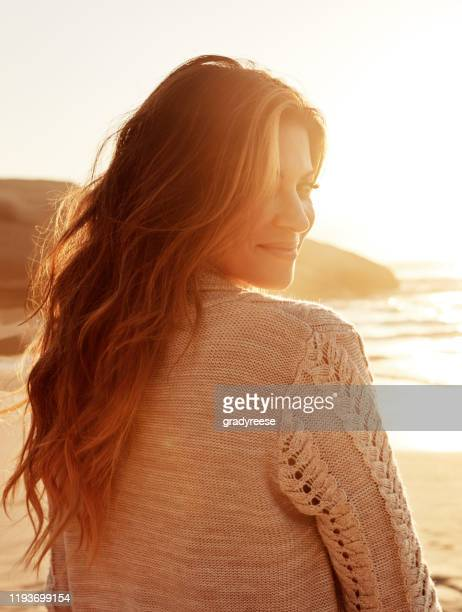 my happy place is right here - long hair stock pictures, royalty-free photos & images