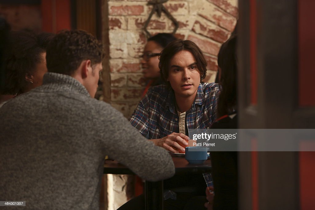 RAVENSWOOD - 'My Haunted Heart' - Caleb is thrown when his Rosewood ex Hanna shows up in Ravenswood, in 'My Haunted Heart,' the winter finale episode of ABC Family's original series, 'Ravenswood,' airing Tuesday, February 4th (9:00 - 10:00 PM ET/PT). BLACKBURN