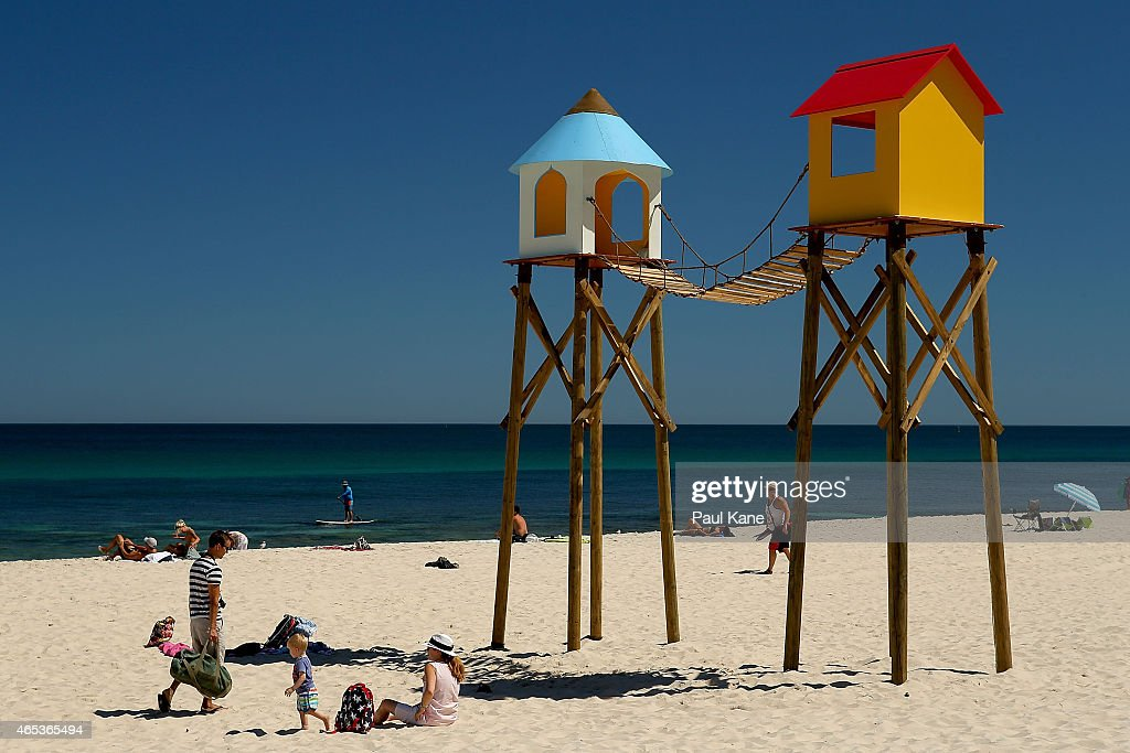 Sculpture By The Sea Launched At Cottesloe Beach : News Photo