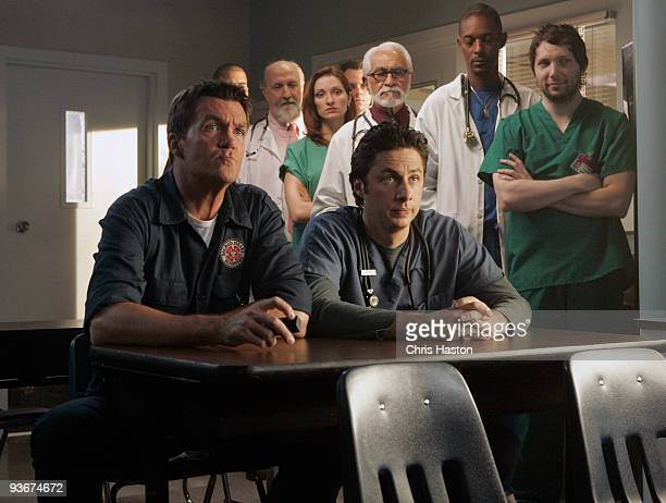 """My Identity Crisis"""" - Turk tries to assure a worried Carla that their daughter will acknowledge her Latin heritage. The Janitor challenges J.D. To..."""