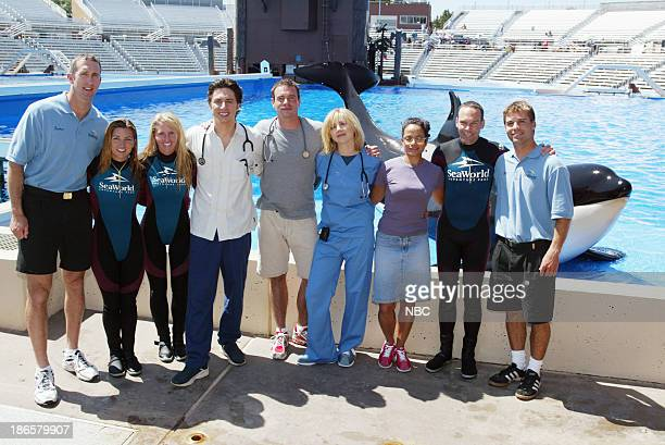 SCRUBS 'My Journey' Episode 2 Pictured Zach Braff as Dr John 'JD' Dorian Scott Foley as Sean Kelly Sarah Chalke as Dr Elliot Reid Judy Reyes as Nurse...