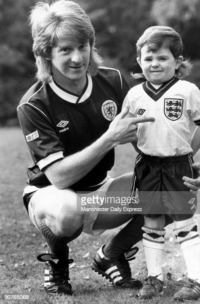 �My lad playing for England you must be joking� Scottish international Gordon Strachan shows off son Craig�s England kit He had a successful playing...
