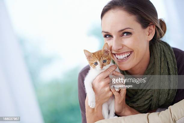 my little furry friend - hairy women stock pictures, royalty-free photos & images