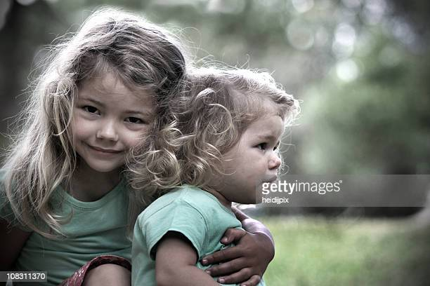 my little sister - desaturated stock pictures, royalty-free photos & images