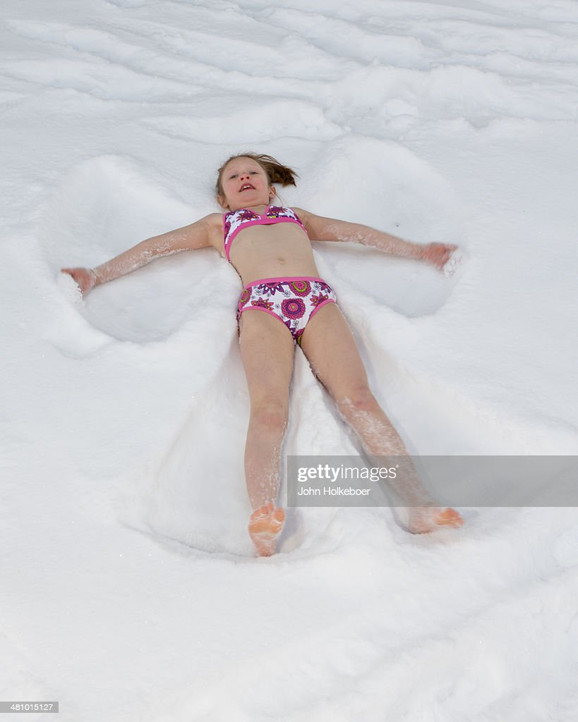Bikini snow angel xxx