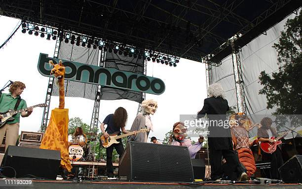 My Morning Jacket during Bonnaroo 2005 Day 3 My Morning Jacket at Which Stage in Manchester Tennessee United States