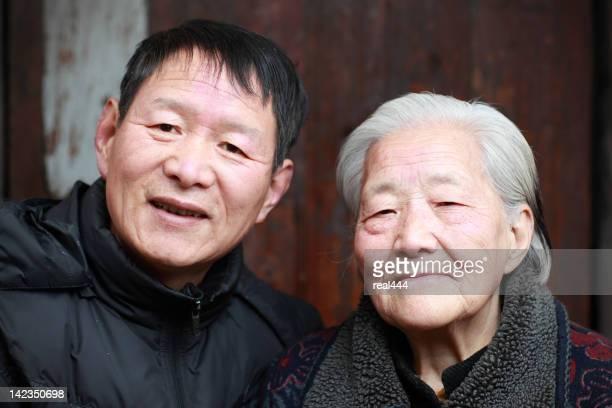 Ma mère et de sa grand-mère