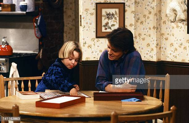TIES 'My Mother My Friend' Episode 12 Pictured Marc Price as Erwin 'Skippy' Handleman Michael J Fox as Alex P Keaton Photo by NBC/NBCU Photo Bank