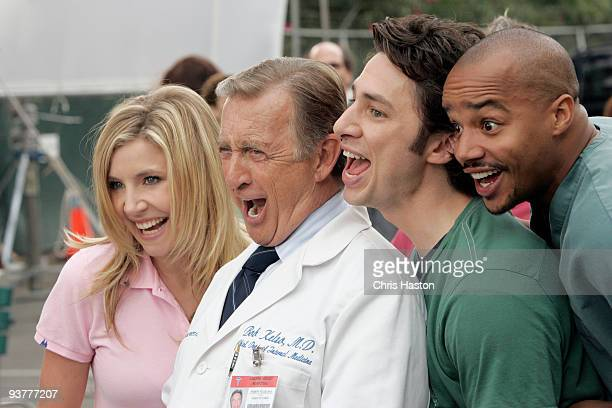 SCRUBS 'My Musical' The series shoots their first allmusical episode with the doctors breaking into song whenever they're near a patient with an...