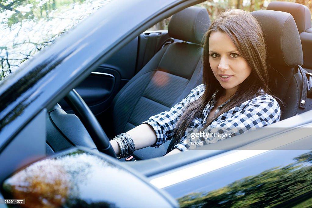 Mi coche nuevo : Foto de stock