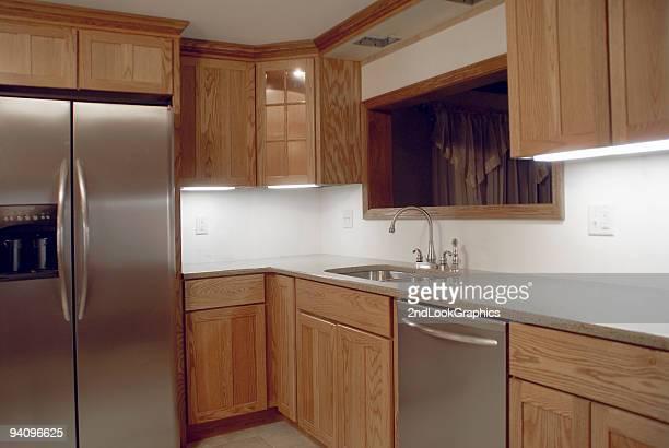 私の新しいキッチンシンクエリア