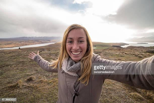My New Zealand winter selfie