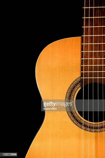 my old guitar - classical guitar stock photos and pictures