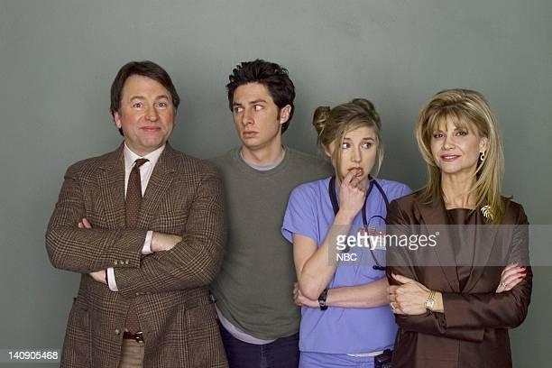 SCRUBS My Old Man Episode 19 Aired 04/09/02 Pictured John Ritter as Sam Dorian Zach Braff as Dr John 'JD' Dorian Sarah Chalke as Dr Elliot Reid...
