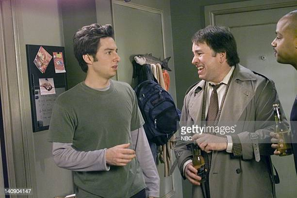 SCRUBS My Old Man Episode 19 Aired 04/09/02 Pictured Zach Braff as Dr John 'JD' Dorian John Ritter as Sam Dorian Donald Faison as Dr Christopher Turk...