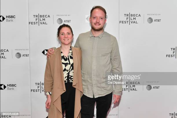 My Ossianson and Alasdair Mitchell attend a screening of 'Obey' during the 2018 Tribeca Film Festival at Cinepolis Chelsea on April 22 2018 in New...