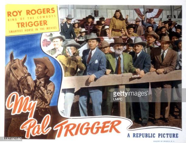 My Pal Trigger lobbycard Gabby Hayes 1946