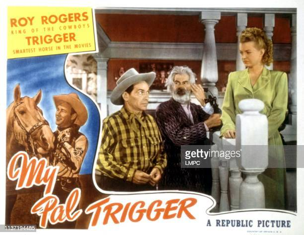My Pal Trigger lobbycard Gabby Hayes Dale Evans 1946