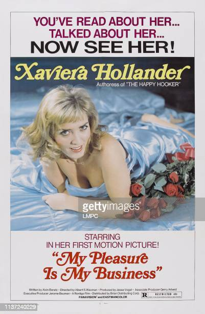 My Pleasure Is My Business poster US poster Xaviera Hollander 1975