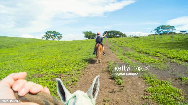 My POV riding a horse