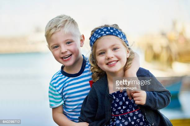 my sister is my best friend - zus stockfoto's en -beelden