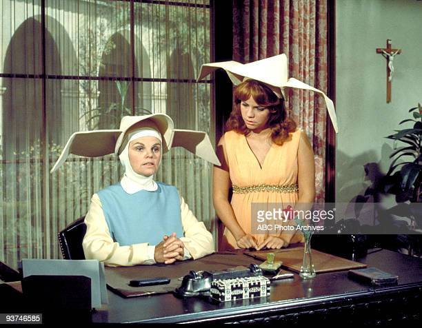 NUN My Sister the Star Season Three 9/24/69 A TV executive became interersted in Sister Bertrille's musical talent Madeleine Sherwood also starred