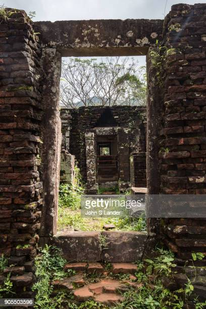 My Son Ruins Sanctuary are set in a small valley in Quang Nam Province about 40 km from Hoi An Each new monarch came to My Son after his accession to...
