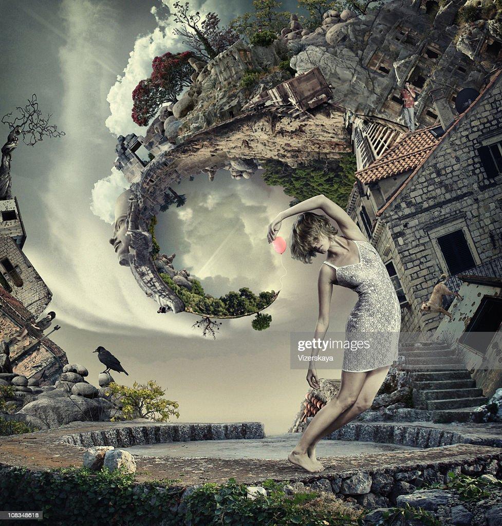 My spirale world : Stock Photo