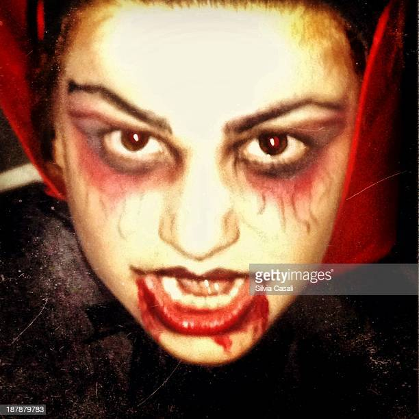 my sweet vampire!! - silvia casali stock pictures, royalty-free photos & images
