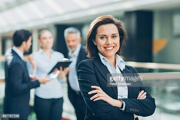 my team stands behind me - authority stock photos and pictures