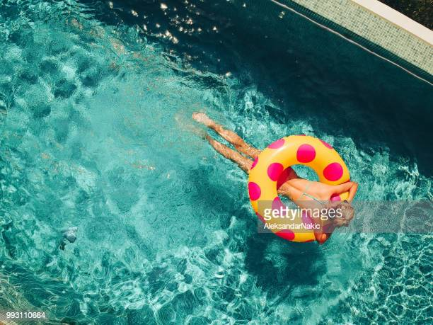 my vacation - inflatable ring stock pictures, royalty-free photos & images