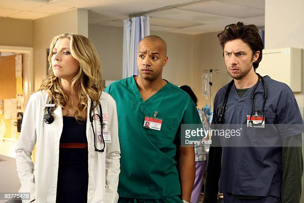SCRUBS 'My ABC's' JD learns the hard way that not even Elmo can teach the gift of compassion to those who don't care to learn and intern Katie scams...