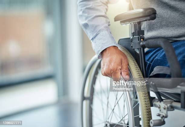 my wheelchair gave me my independence back - wheelchair stock pictures, royalty-free photos & images