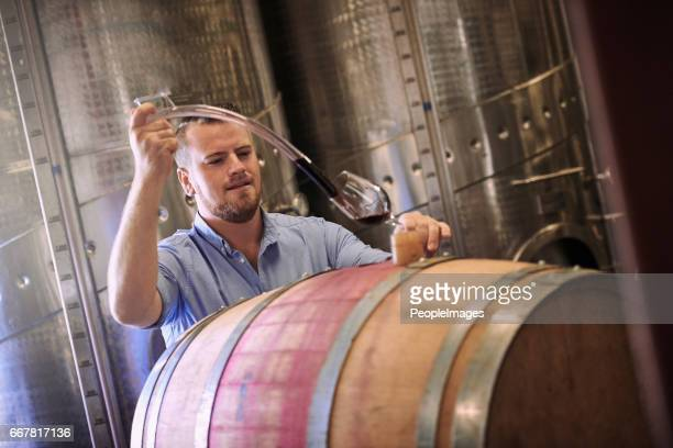 my wine is crafted with care, dedication and love - viniculture stock pictures, royalty-free photos & images