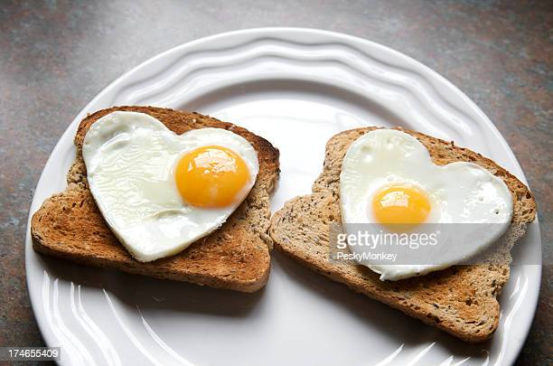 My Yolk Beats for You Healthy Eating Heart Eggs