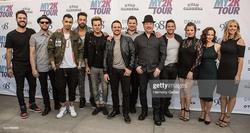 My2k Tour Launch With 98 Degrees, O-Town, Dream And Ryan Cabrera at Faculty on April 26, 2016 in Los Angeles, California.