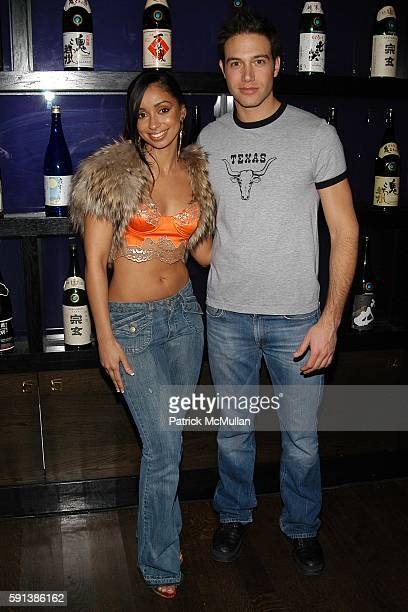 Mya and Eric Villency attend Another Magazine and Gran Centenario Tequila Celebrate Issue 8 with Cover Star Drew Barrymore at Ono on February 6 2005...