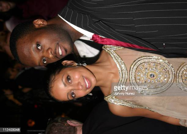 Mya and Praz during Jacob The Jeweler's 40th Birthday Party at Cipriani's in New York City New York United States