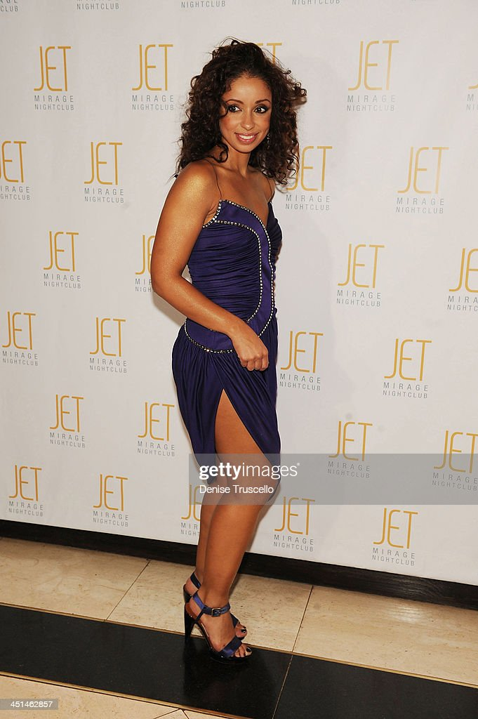 Mya arrives at Jet Nightclub at The Mirage on October 2, 2009 in Las Vegas, Nevada.