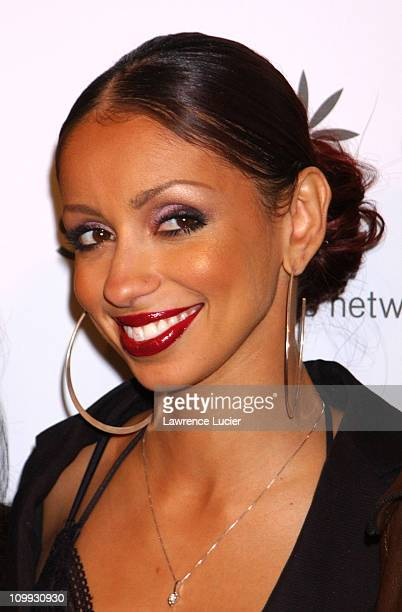 Mya at a benefit for the Step Up Women's Network during DKNY Presents Vanity Fair in Concert to Benefit Step Up Women's Network at Hammerstein...