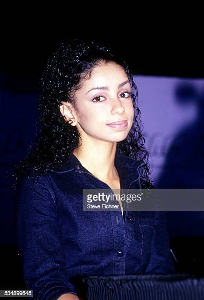 Mya at press conference for Lilith Fair, New York, April 27, 1999.