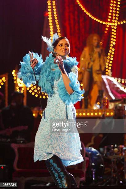 Mya at the 44th Annual Grammy Awards at the Staples Center in Los Angeles Ca Feb 27 2002