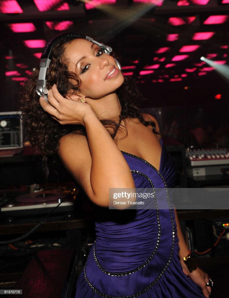 Mya attends Jet Nightclub at The Mirage on October 2, 2009 in Las Vegas, Nevada.