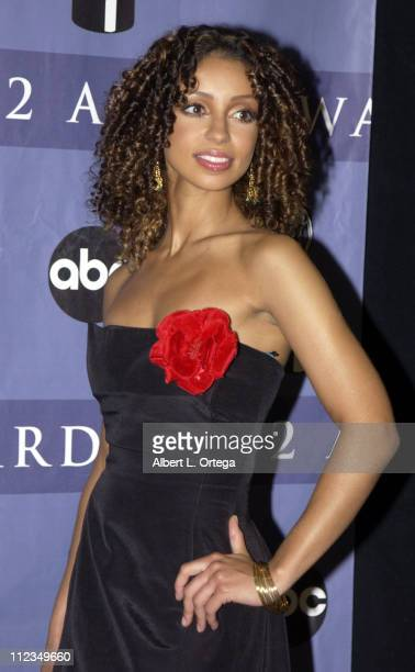 Mya during 2002 ALMA Awards Gala Press Room at The Shrine Auditorium in Los Angeles California United States