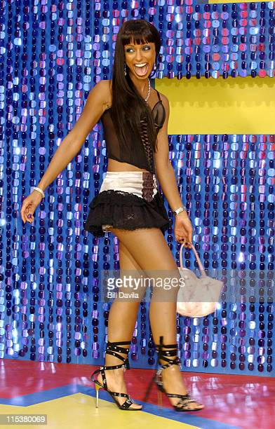 Mya during 2003 MTV Movie Awards Arrivals at The Shrine Auditorium in Los Angeles California United States