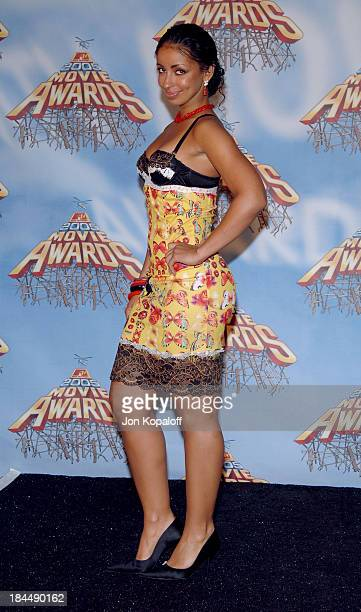 Mya during 2005 MTV Movie Awards Press Room at Shrine Auditorium in Los Angeles California United States