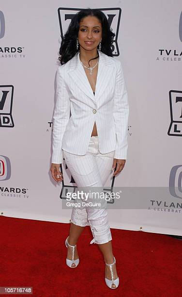 Mya during 3rd Annual TV Land Awards - Arrivals at Barker Hangar in Santa Monica, California, United States.