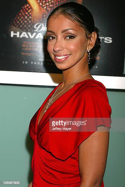 """Mya during """"Dirty Dancing: Havana Nights"""" Premiere - Arrivals at ArcLight Cinemas in Los Angeles, California, United States."""