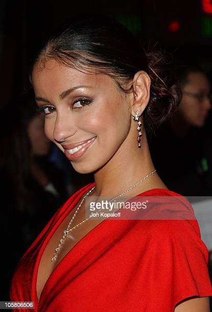 Mya during Dirty Dancing Havana Nights World Premiere at The Arclight Cinerama Dome in Hollywood California United States